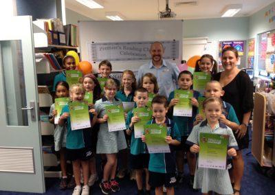 Premier's Reading Challenge 2012