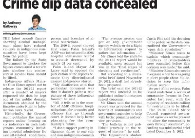 Townsville Bulletin quarterly report data