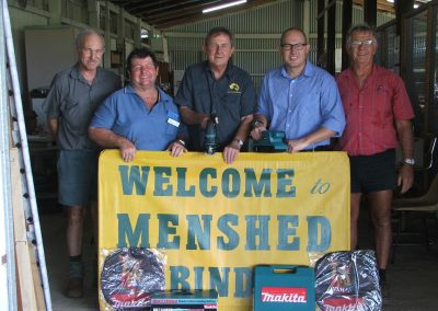 MP supports local Mensheds