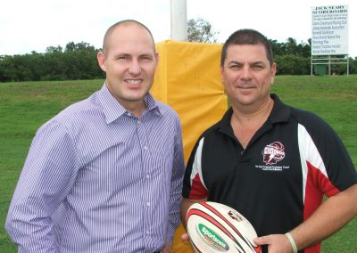 Boost for Innisfail Touch Football