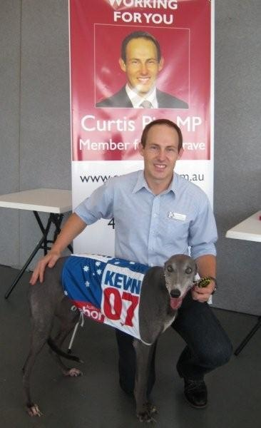 Curtis Pitt MP Greyhound Race Event