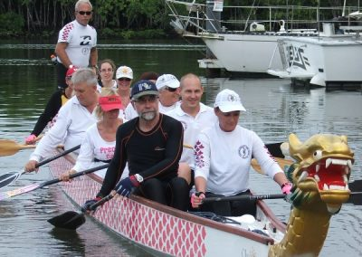 Cairns Dragon Boat Club all set to breathe fire