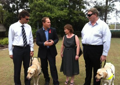 Enhanced accommodation rights for vision impaired Queenslanders before Parliament