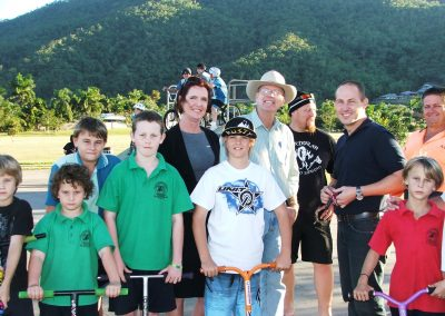 Gordonvale skate park meeting