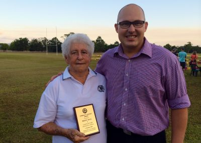 Babinda's Beryl Ball rewarded for community service