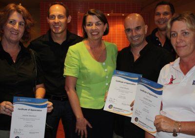 Sports volunteers awards