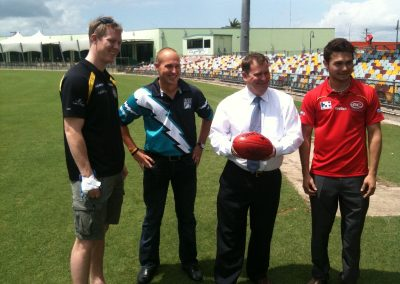 AFL Premiership matches to be played in Cairns