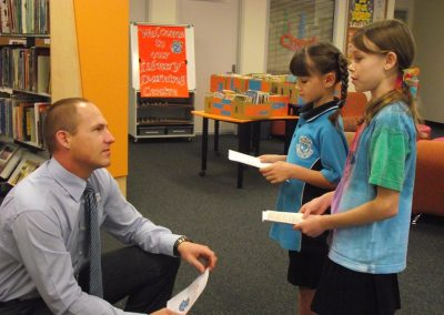 Learning about the Hambledon State School Library Learning Centre
