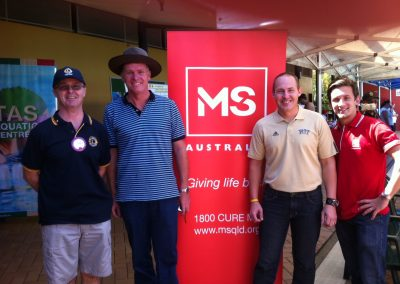 First MS Mega Swim launched in Cairns