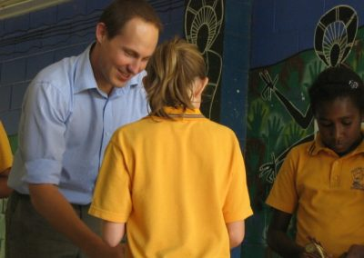 Principal for a Day 2009 at White Rock State School