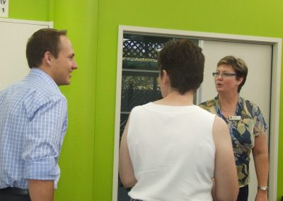 Opening of upgraded school library at Gordonvale High