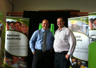 Official opening of new $1.3 million Skill360 Trades Training Centre