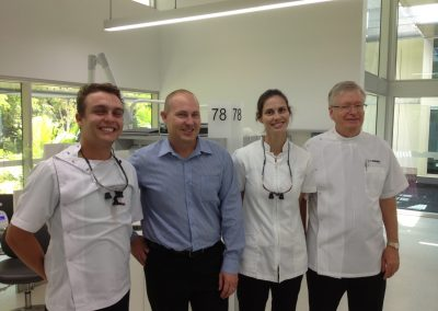Curtis Pitt visits the James Cook University Dental School