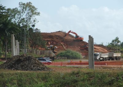 Work on Red Hill and Sheehy Rd intersection progressing well
